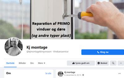 KJ Montage - Facebookside og annoncering på Facebook