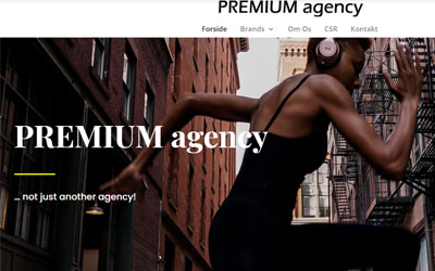 Premium Agency - nyt website